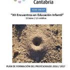 XII Encuentros en Educación Infantil (CEPs DE CANTABRIA)